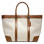 Bleecker City Canvas Weekend Tote