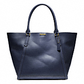BLEECKER LEATHER FULTON TOTE
