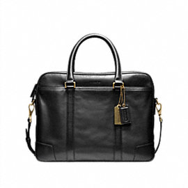 Bleecker Leather Slim Brief