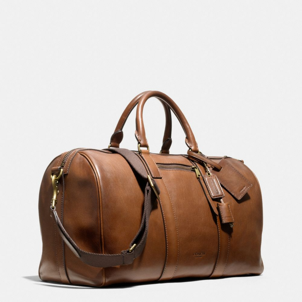 BLEECKER DUFFLE IN LEATHER - Alternate View