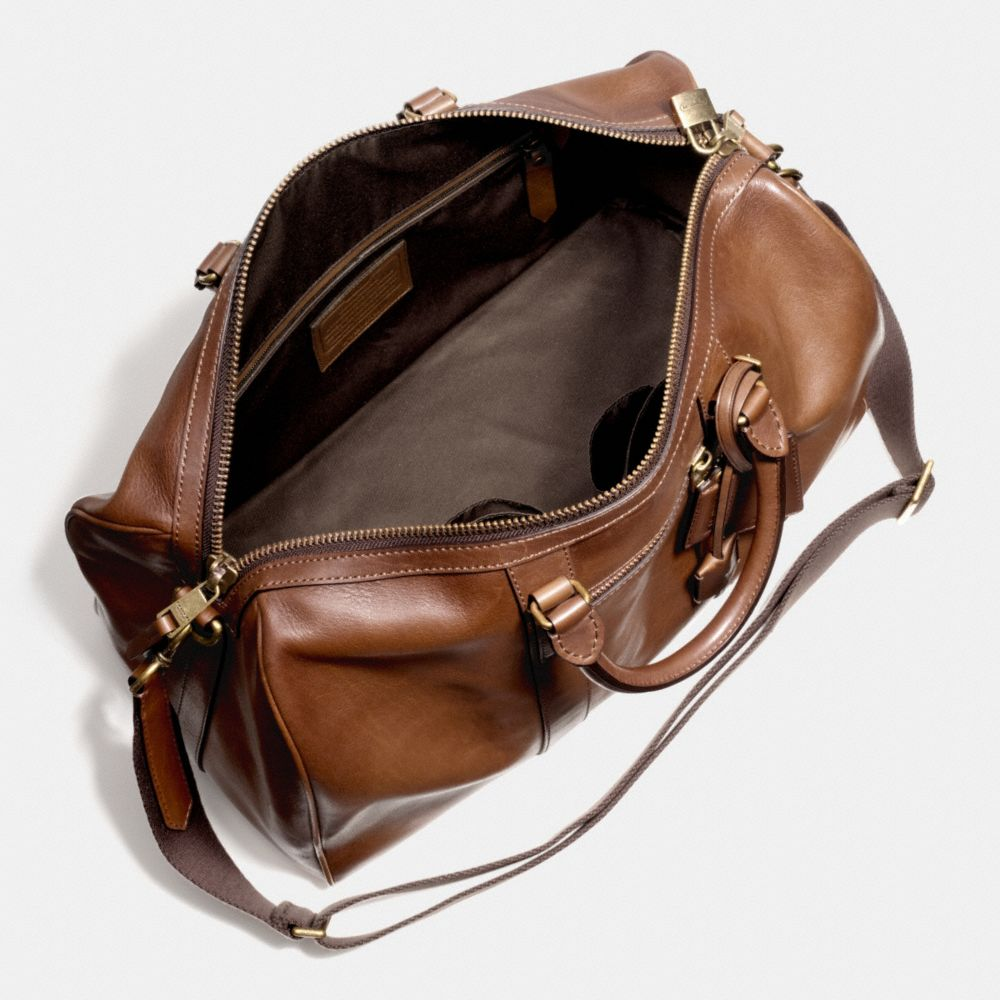 Bleecker Duffle in Leather - Alternate View A3