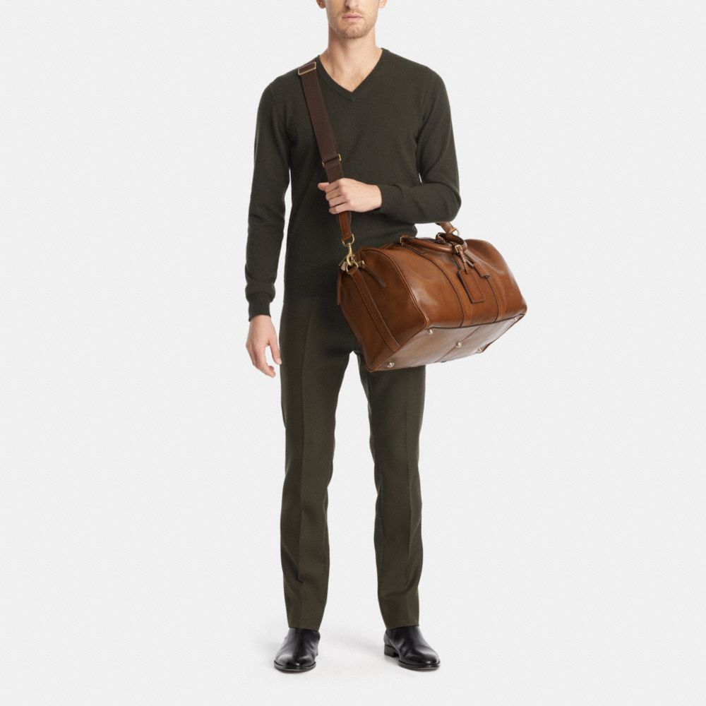 Bleecker Duffle in Leather - Alternate View M1