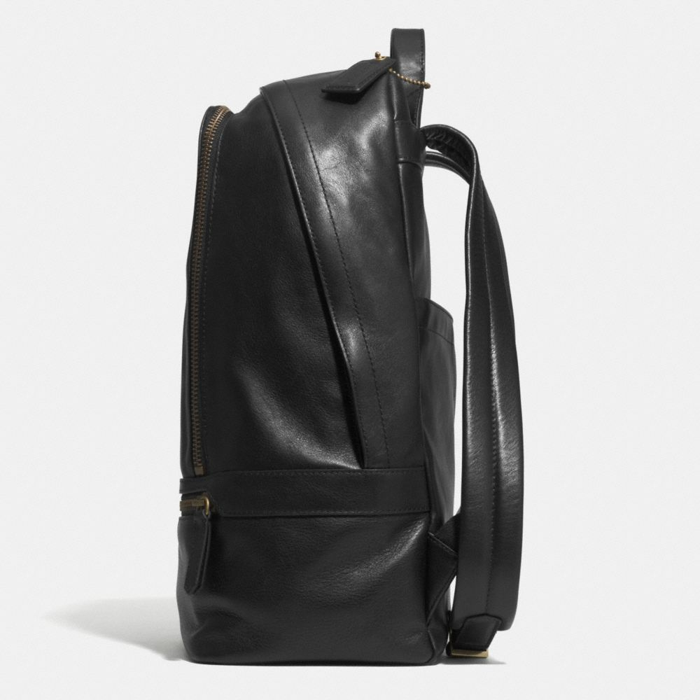Bleecker Traveler Backpack in Leather - Alternate View A1