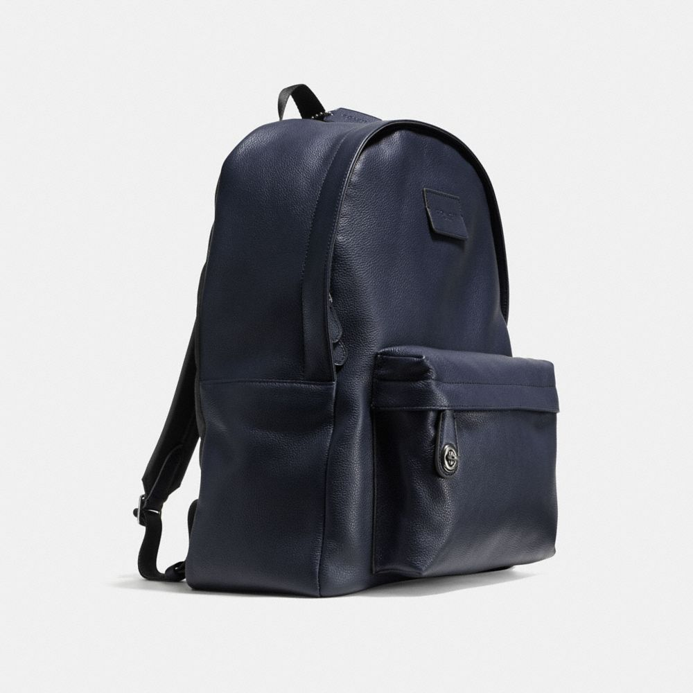 Campus Backpack in Refined Pebble Leather - Alternate View A2
