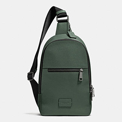 COACH CAMPUS PACK IN PEBBLE LEATHER