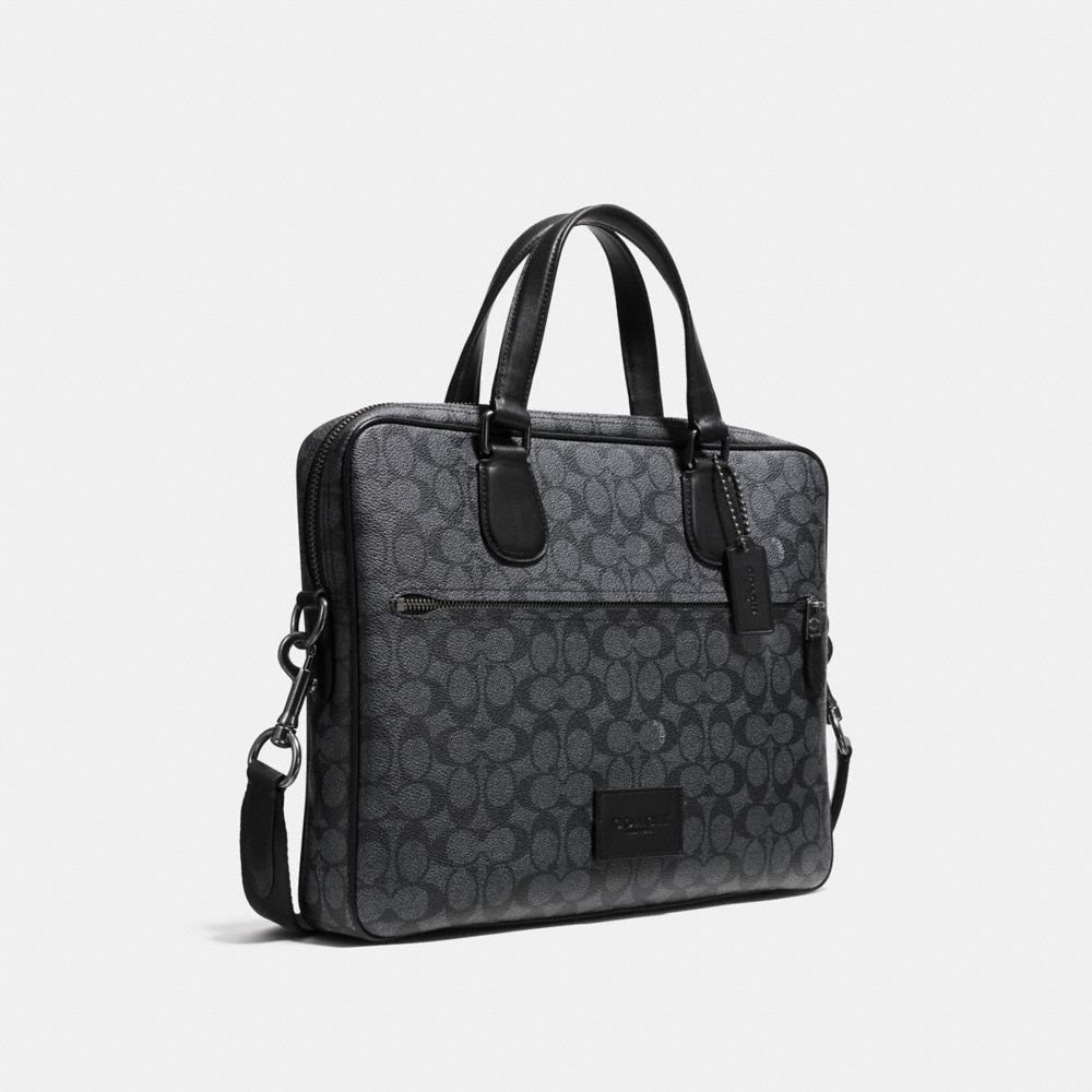 Coach Hudson 5 Bag in Signature Canvas - Alternate View A2