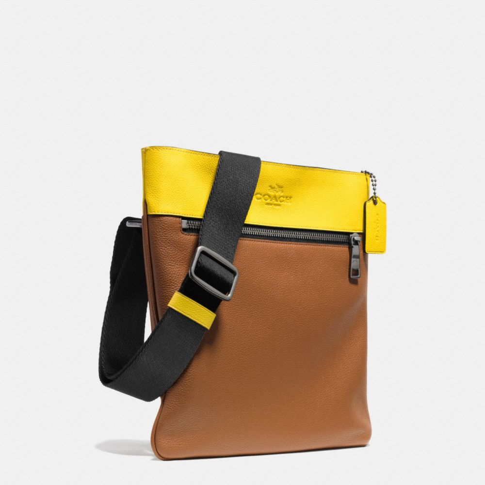 Bowery Crossbody in Refined Pebble Leather - Alternate View A2