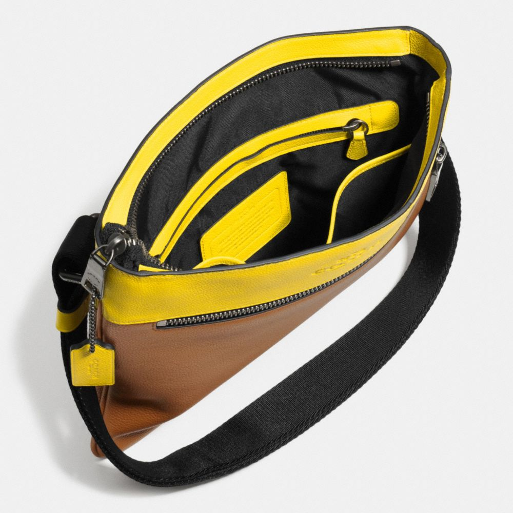 Bowery Crossbody in Refined Pebble Leather - Alternate View A3