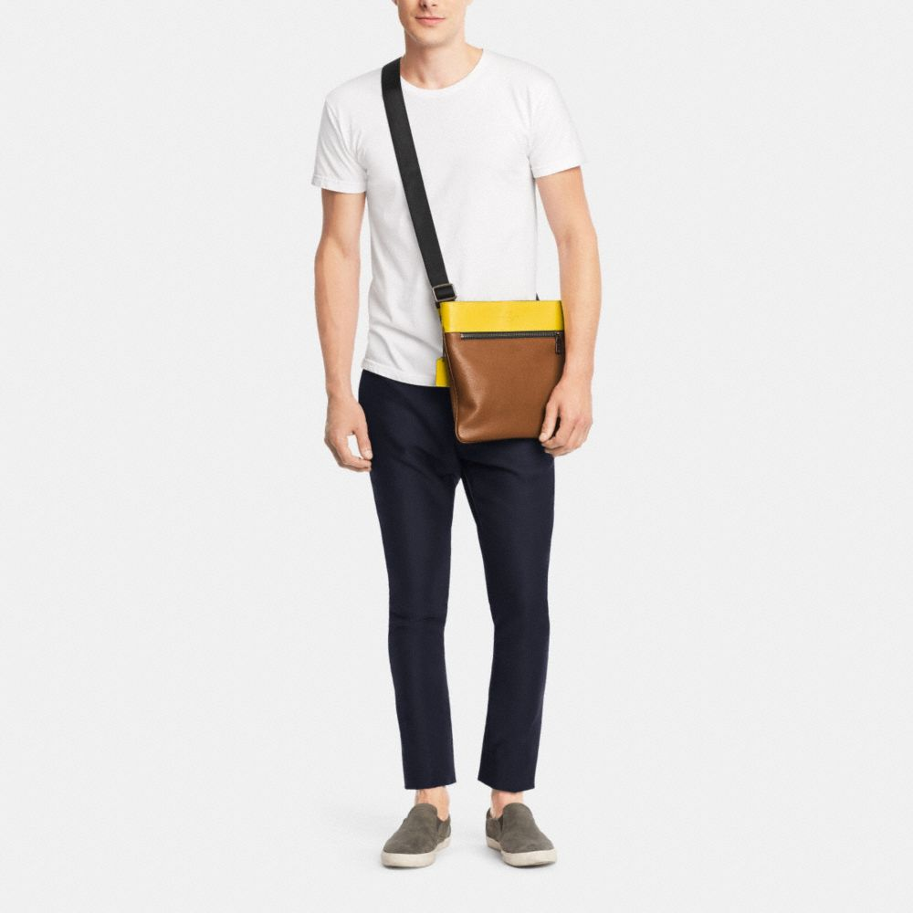 Bowery Crossbody in Refined Pebble Leather - Alternate View M1