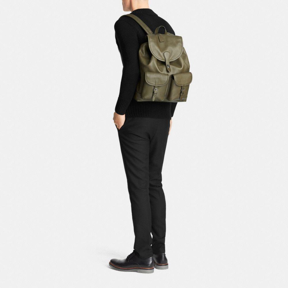 Rucksack in Sport Calf Leather - Alternate View M