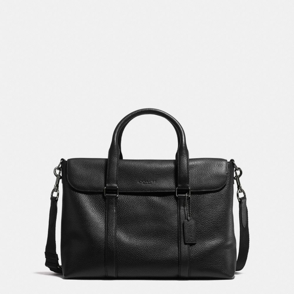 Coach Metropolitan Messenger in Pebble Leather