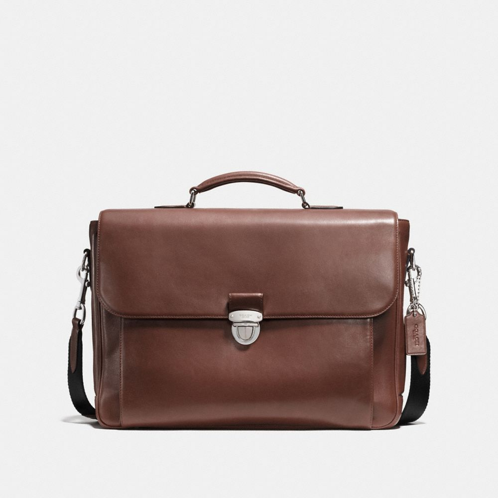 METROPOLITAN BRIEFCASE IN SPORT CALF LEATHER - Alternate View