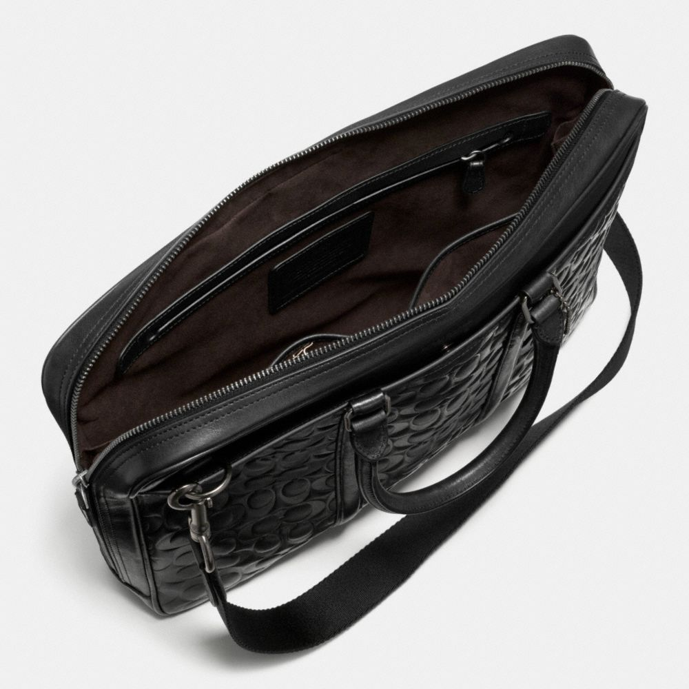 Metropolitan Brief in Signature Sport Calf Leather - Alternate View A3