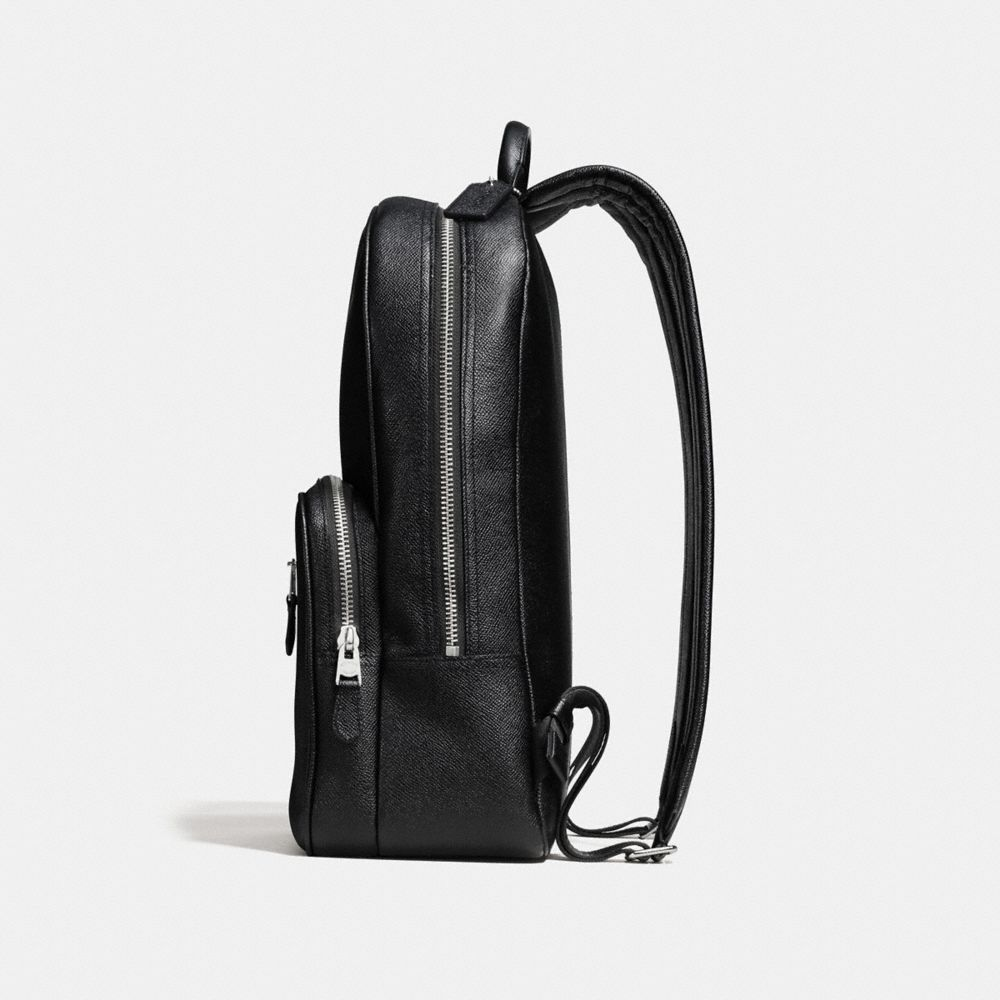 HUDSON BACKPACK IN CROSSGRAIN LEATHER - Alternate View A1