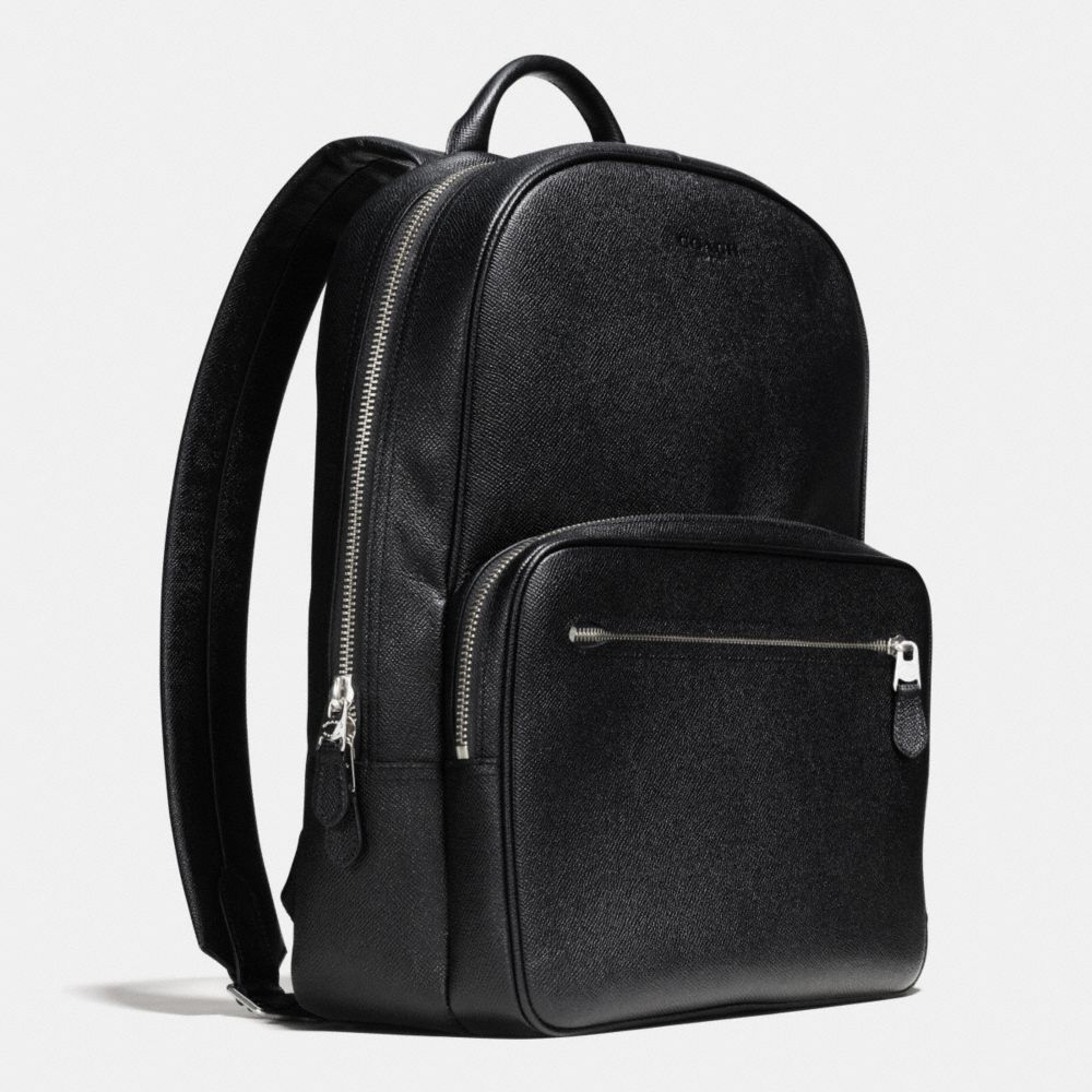 HUDSON BACKPACK IN CROSSGRAIN LEATHER - Alternate View A2