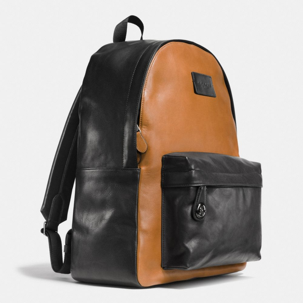CAMPUS BACKPACK IN SPORT CALF LEATHER - Alternate View A2