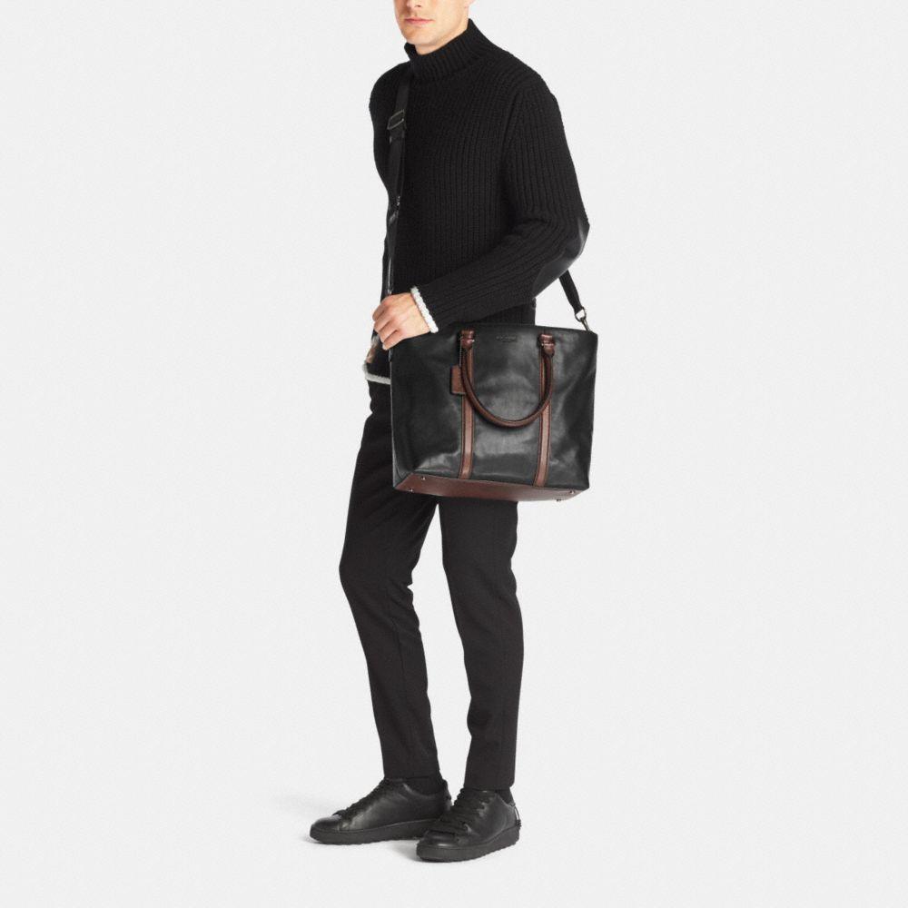 Metropolitan Tote in Sport Calf Leather - Alternate View M