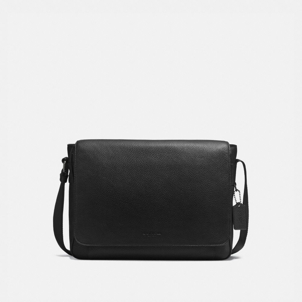 Metropolitan Courier in Pebble Leather