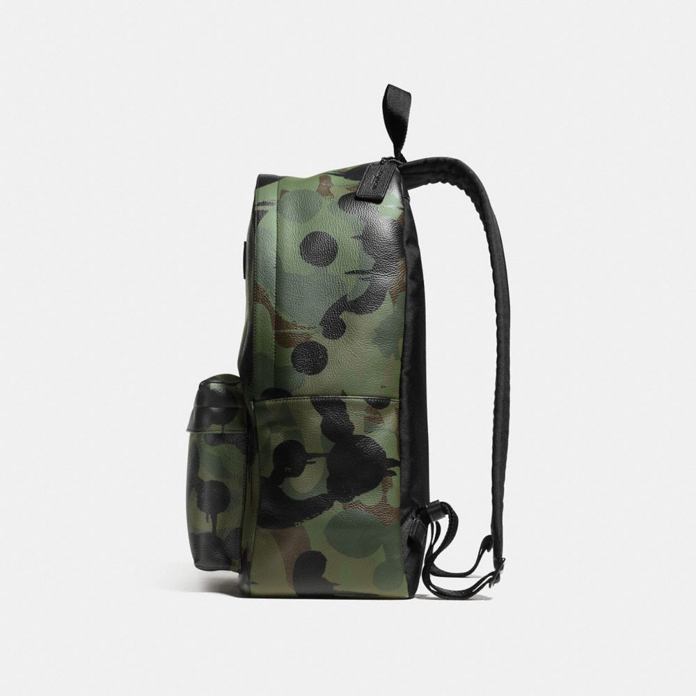 Campus Backpack in Printed Pebble Leather - Alternate View A1