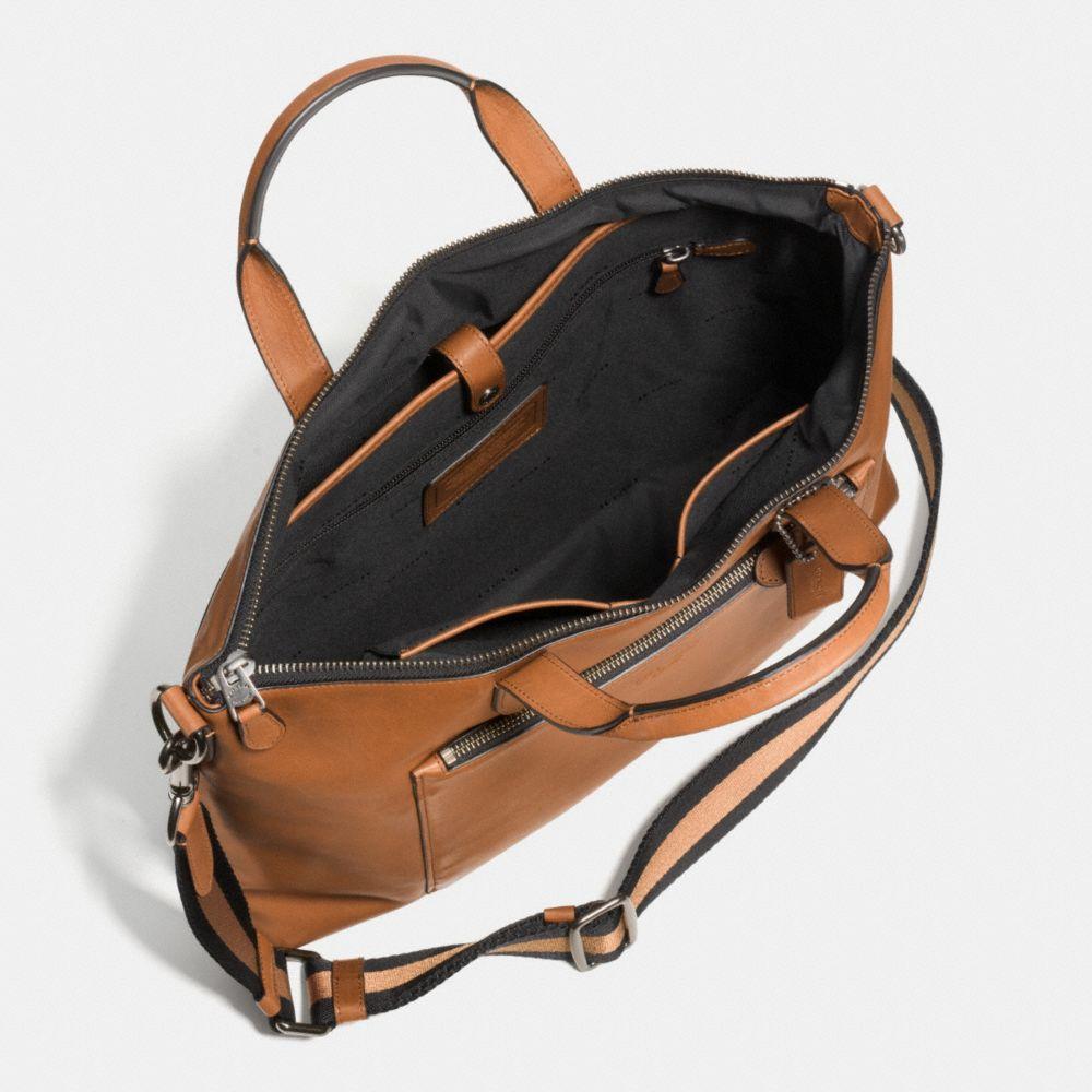 Manhattan Brief in Sport Calf Leather - Alternate View A3