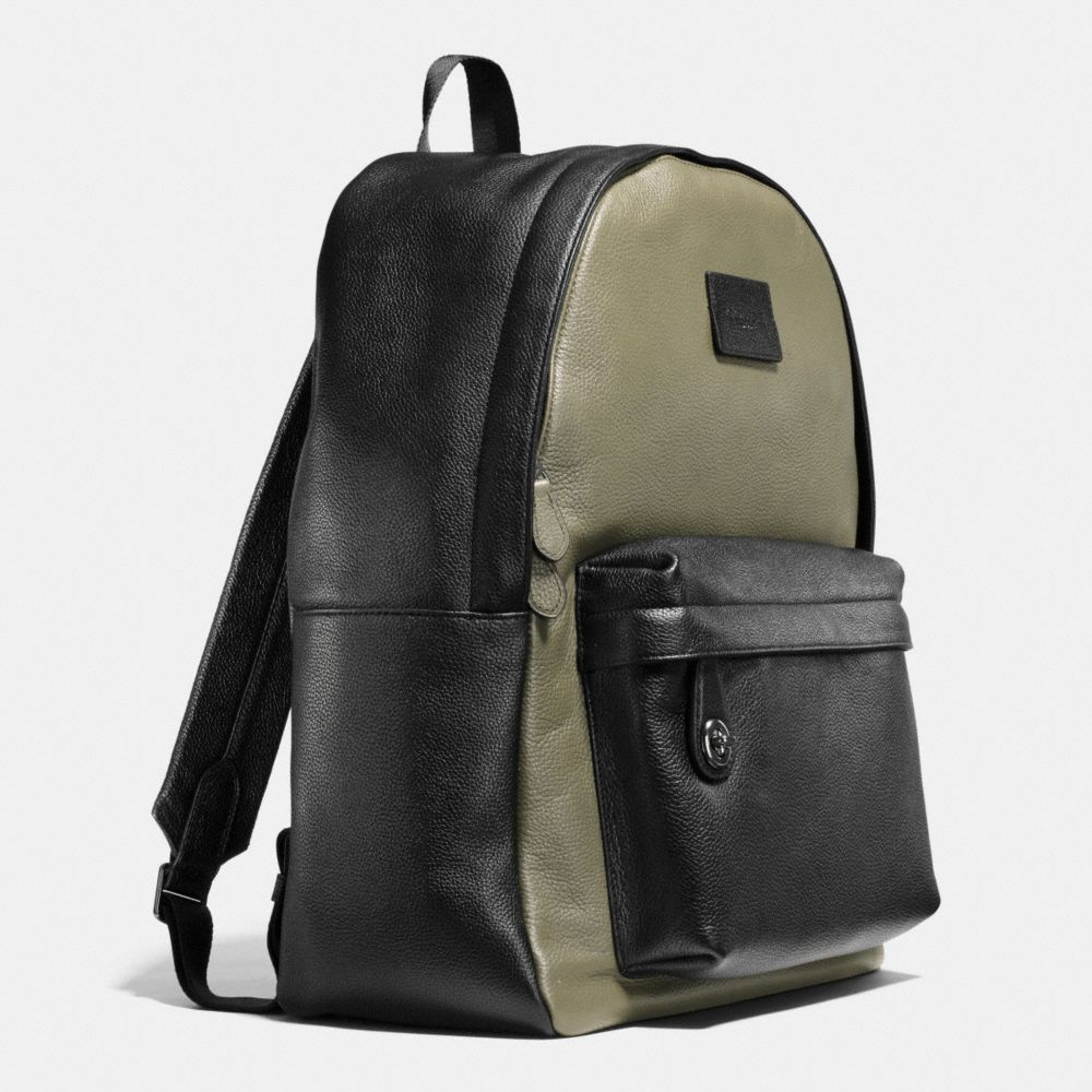 Campus Backpack in Colorblock Refined Pebble Leather - Alternate View A2