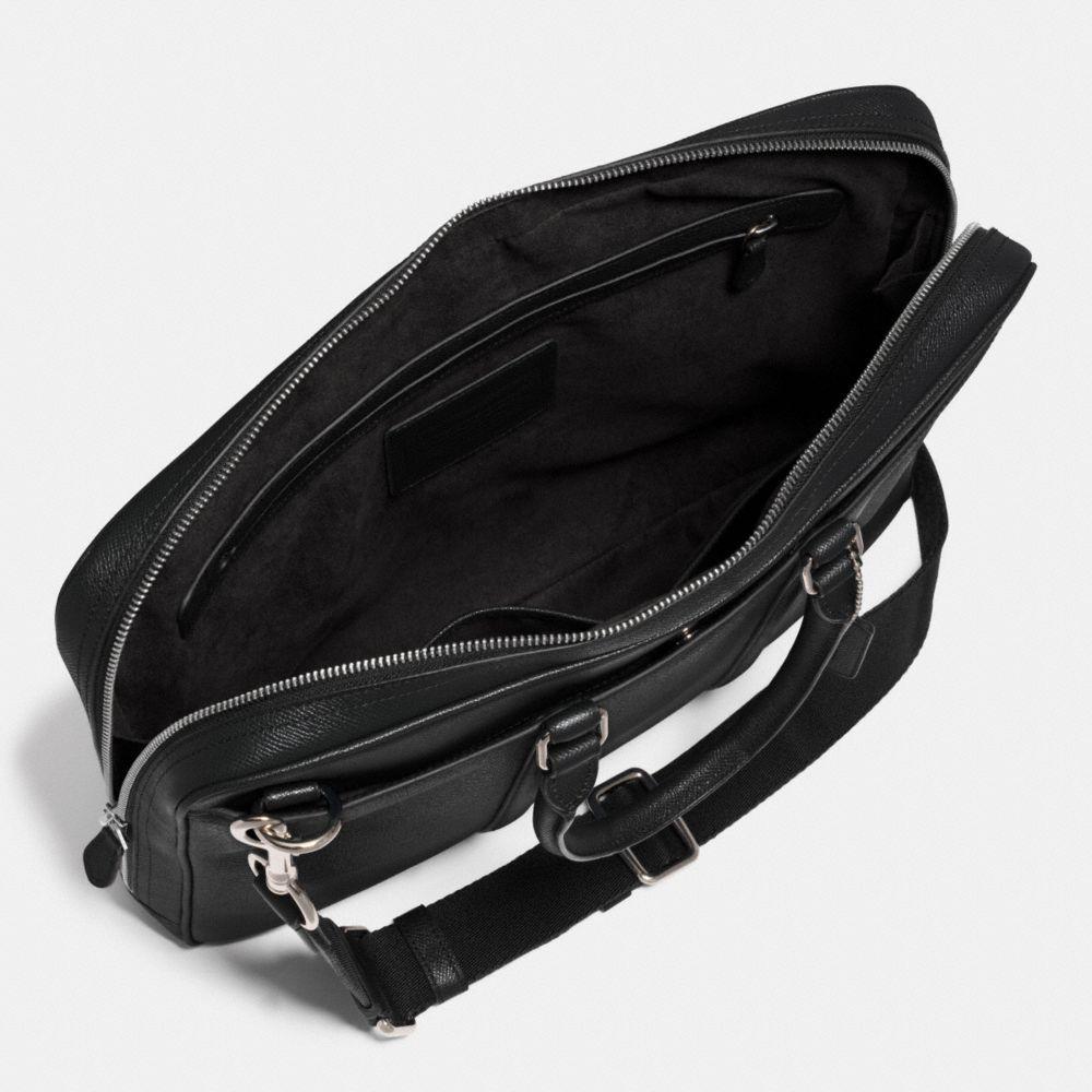 Metropolitan Slim Brief in Crossgrain Leather - Alternate View A3