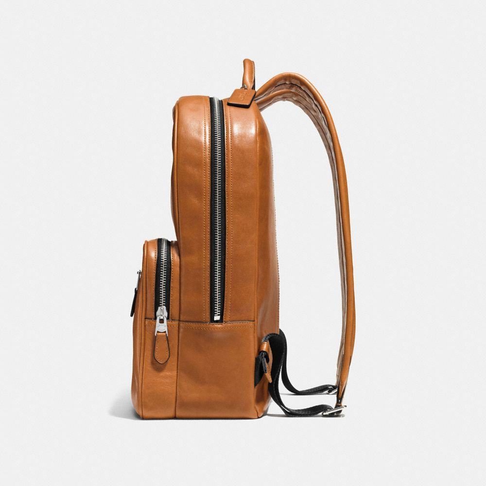 HUDSON BACKPACK IN SPORT CALF LEATHER - Alternate View A1