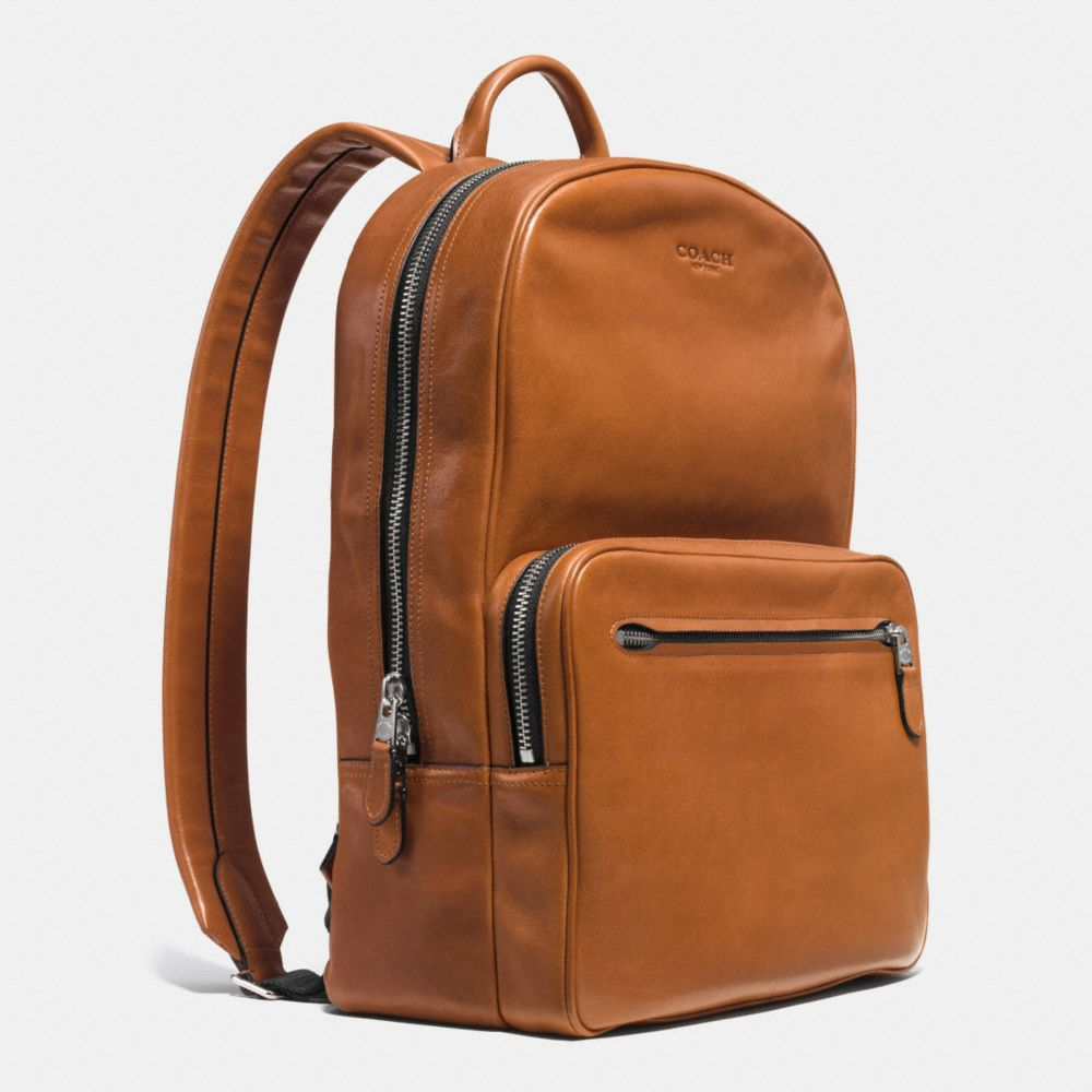 HUDSON BACKPACK IN SPORT CALF LEATHER - Alternate View