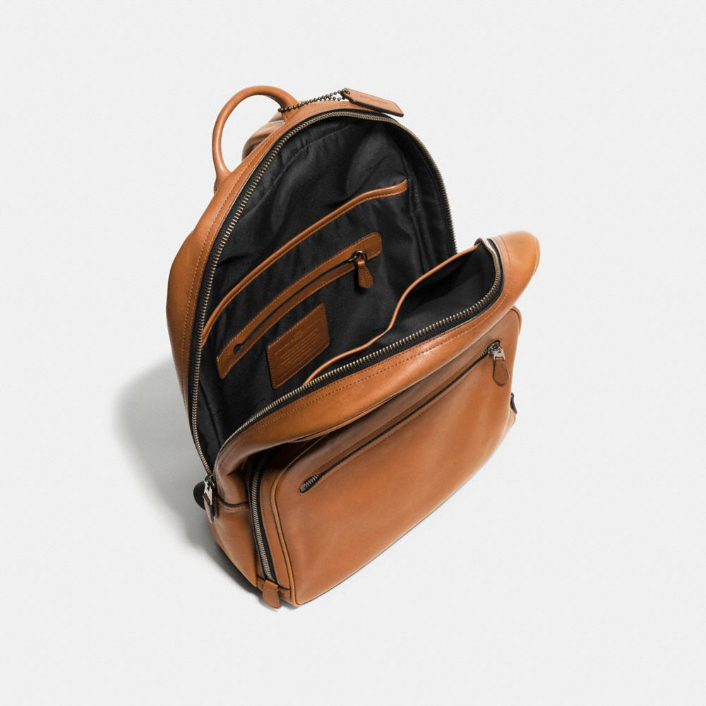 HUDSON BACKPACK IN SPORT CALF LEATHER - Alternate View A3
