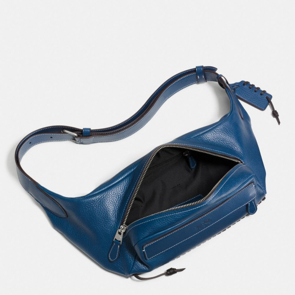Rip and Repair Small Hip Bag in Pebble Leather - Alternate View A1