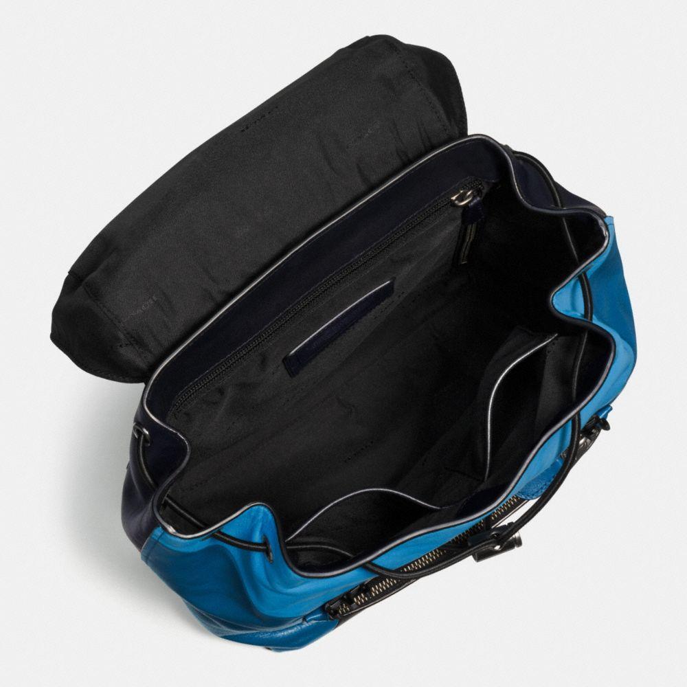 Manhattan Backpack in Sport Calf Leather - Alternate View A3