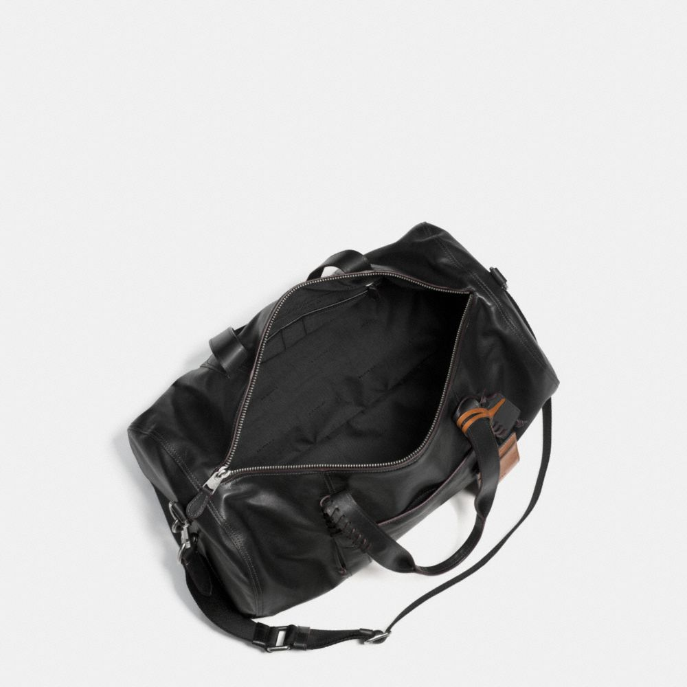 Rip and Repair Large Gym Bag in Sport Calf Leather - Alternate View A3