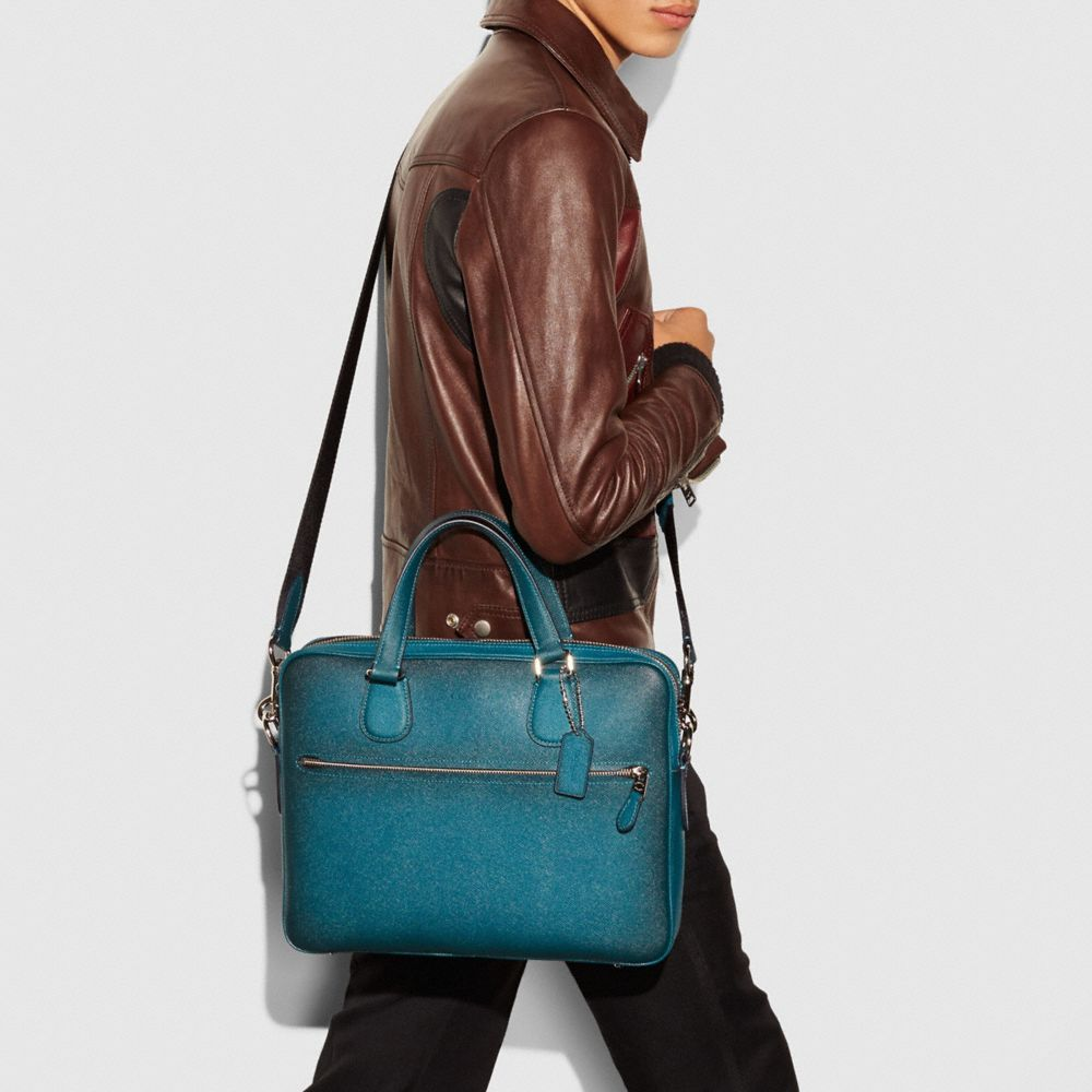 HUDSON 5 BAG IN BURNISHED CROSSGRAIN LEATHER - Alternate View