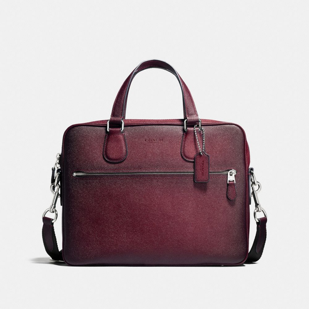 Coach Hudson 5 Bag in Burnished Crossgrain Leather