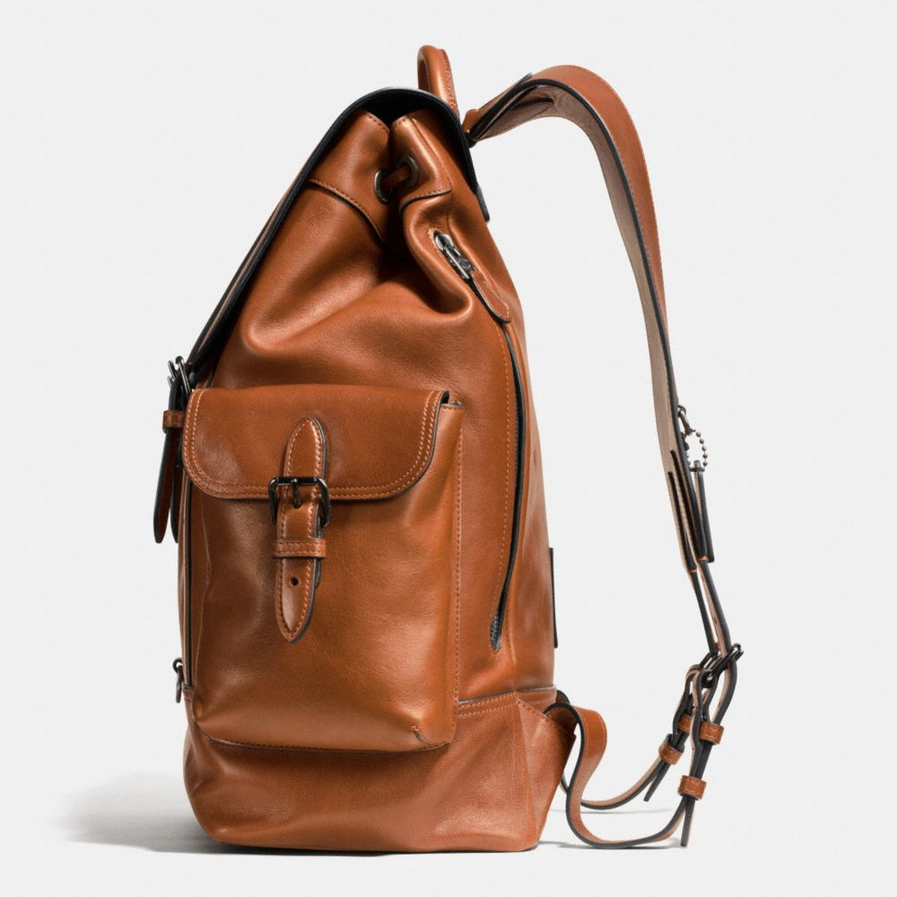 Metropolitan Rucksack in Sport Calf Leather - Alternate View A1
