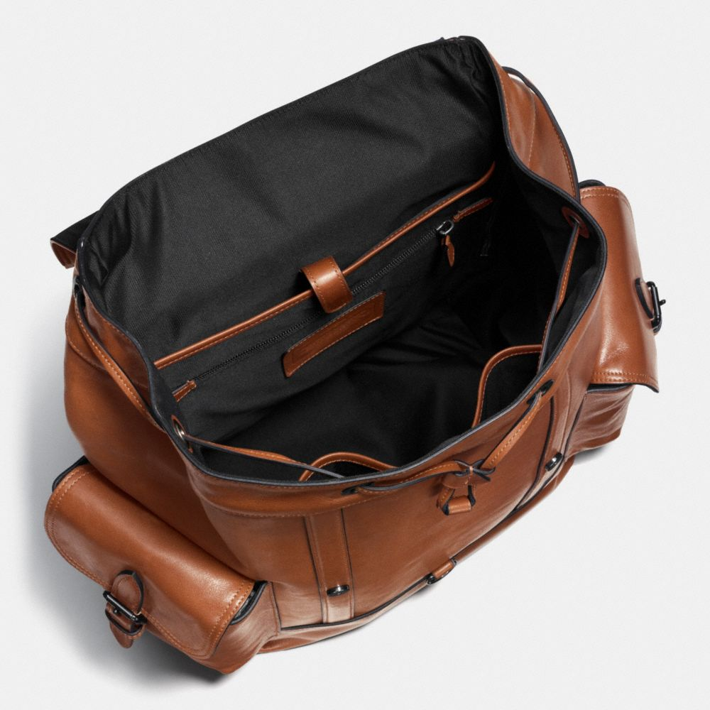 Metropolitan Rucksack in Sport Calf Leather - Alternate View A2