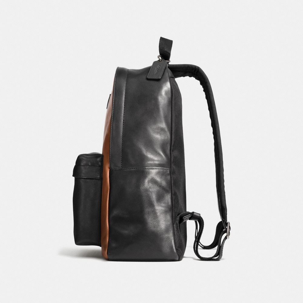 Small Campus Backpack in Sport Calf Leather - Alternate View A1