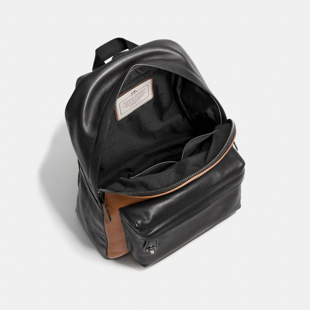 Small Campus Backpack in Sport Calf Leather - Alternate View A3