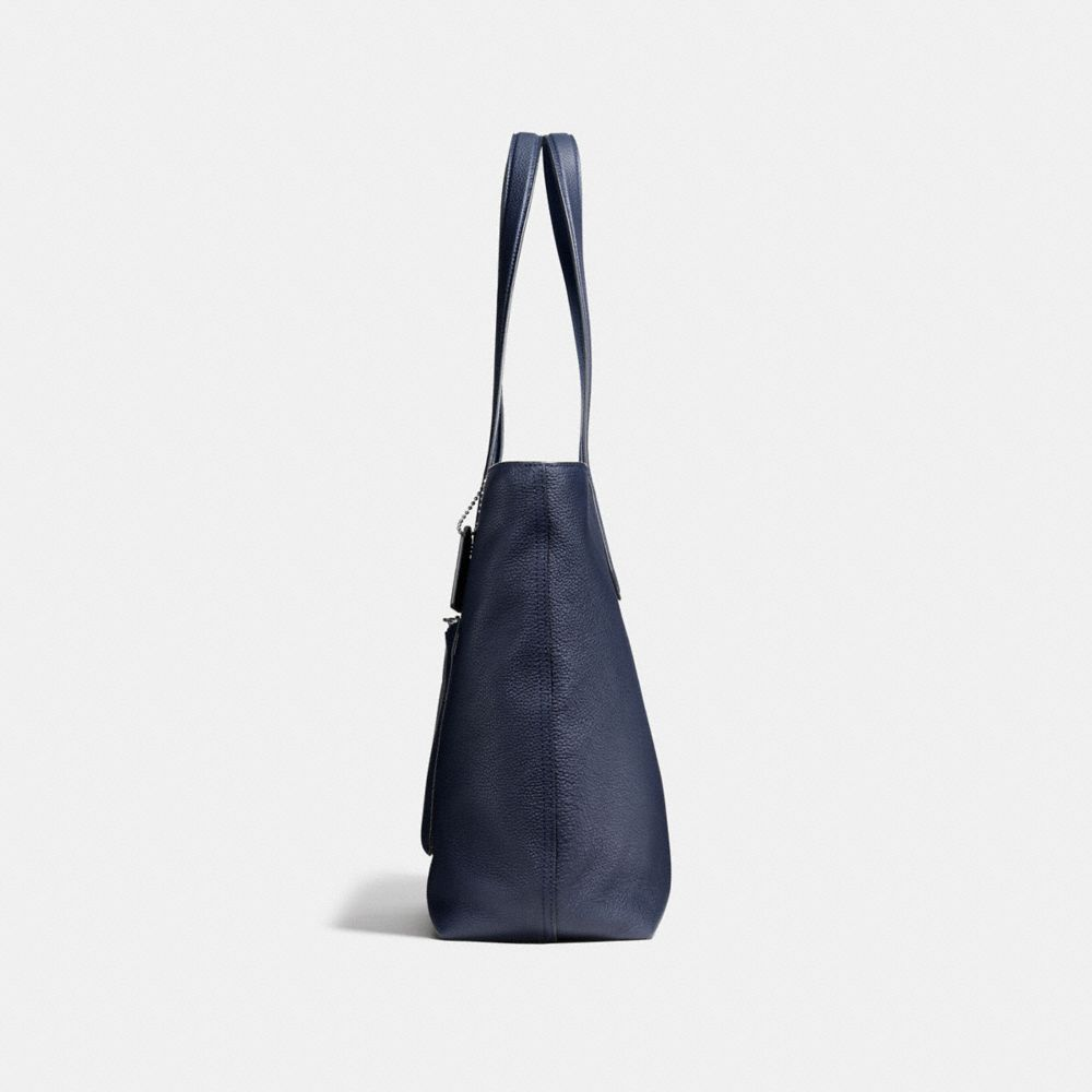 Metropolitan Soft Tote in Pebble Leather - Alternate View A1