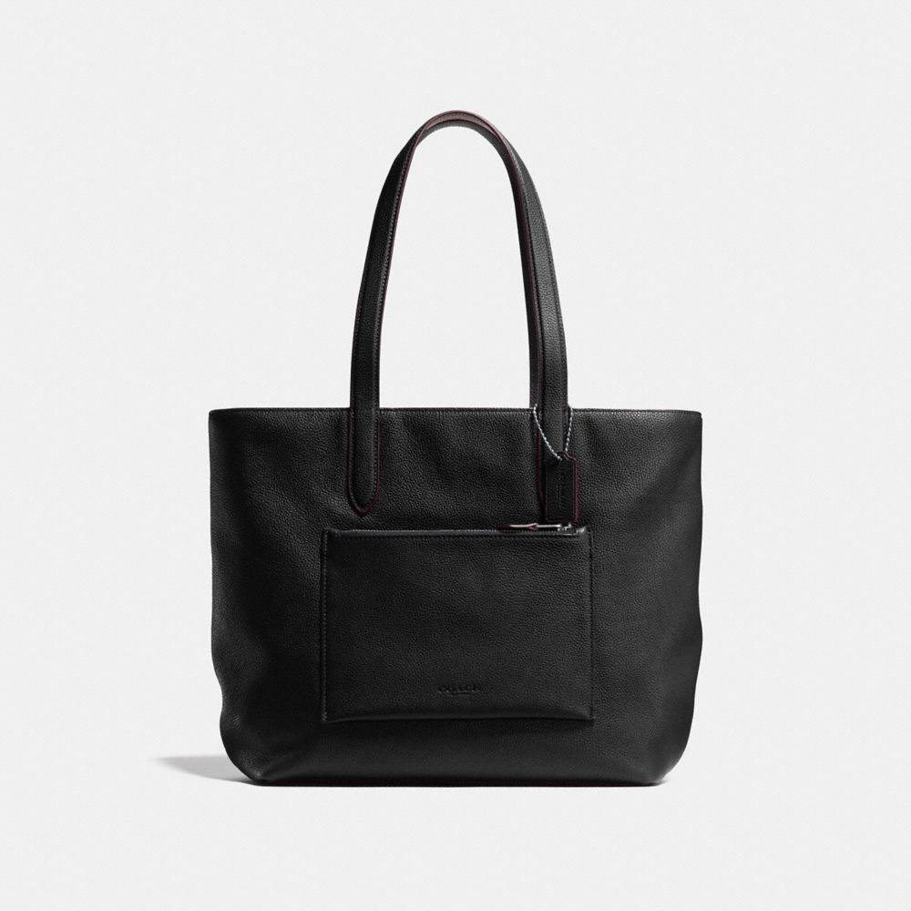 METROPOLITAN SOFT TOTE IN PEBBLE LEATHER - Alternate View