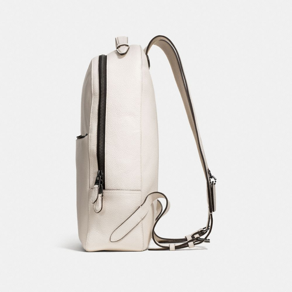 Metropolitan Soft Backpack in Refined Pebble Leather - Alternate View A1