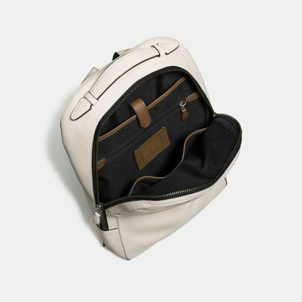 METROPOLITAN SOFT BACKPACK IN REFINED PEBBLE LEATHER - Alternate View A3