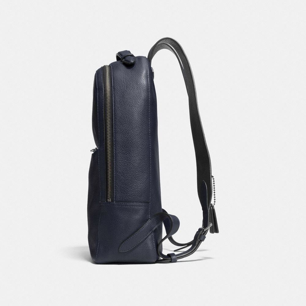 METROPOLITAN SOFT BACKPACK IN REFINED PEBBLE LEATHER - Alternate View