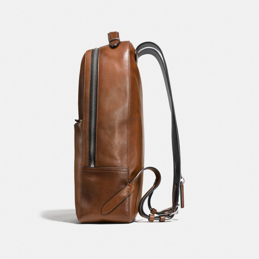 Metropolitan Soft Backpack in Sport Calf Leather - Alternate View A1