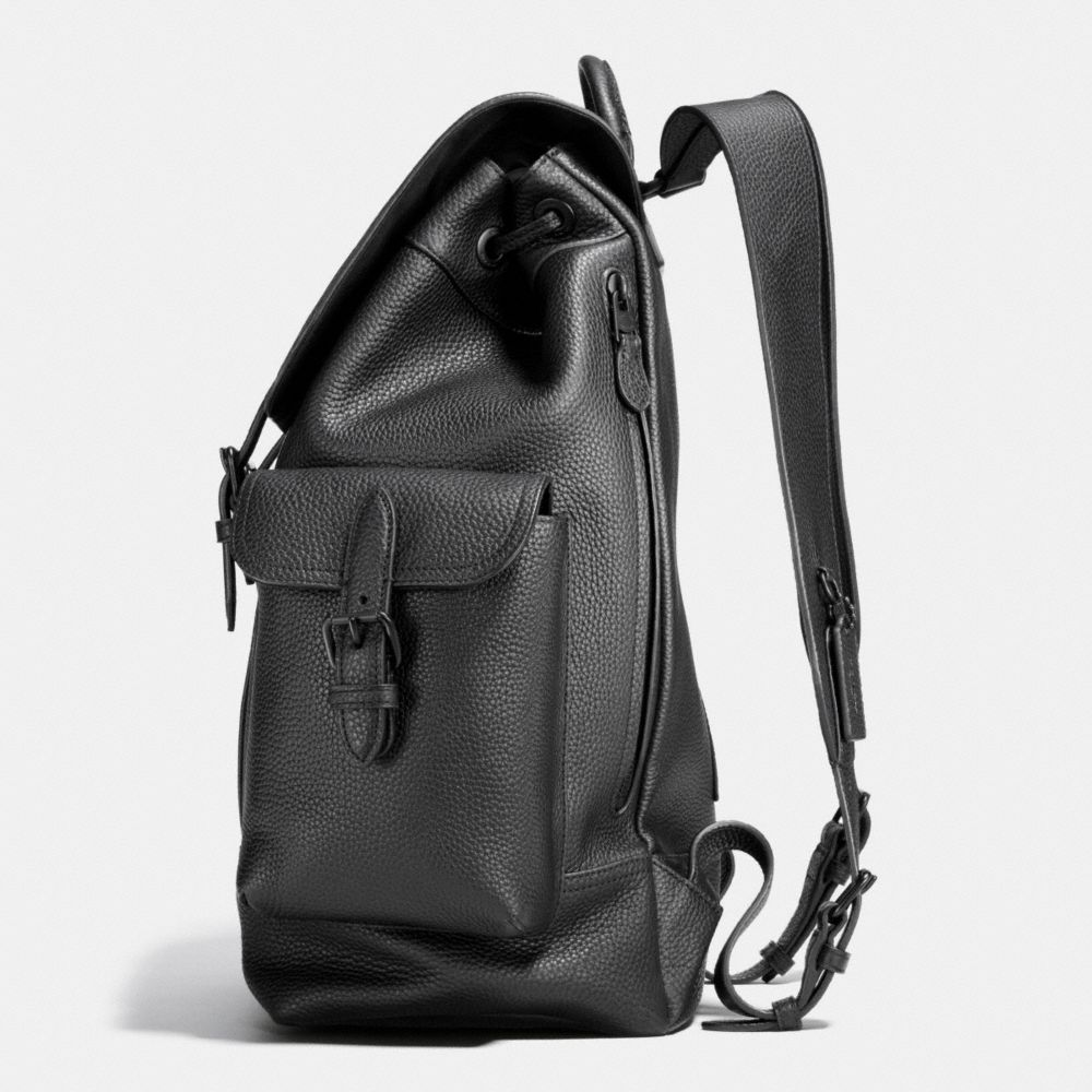 Metropolitan Rucksack in Pebble Leather - Alternate View A1