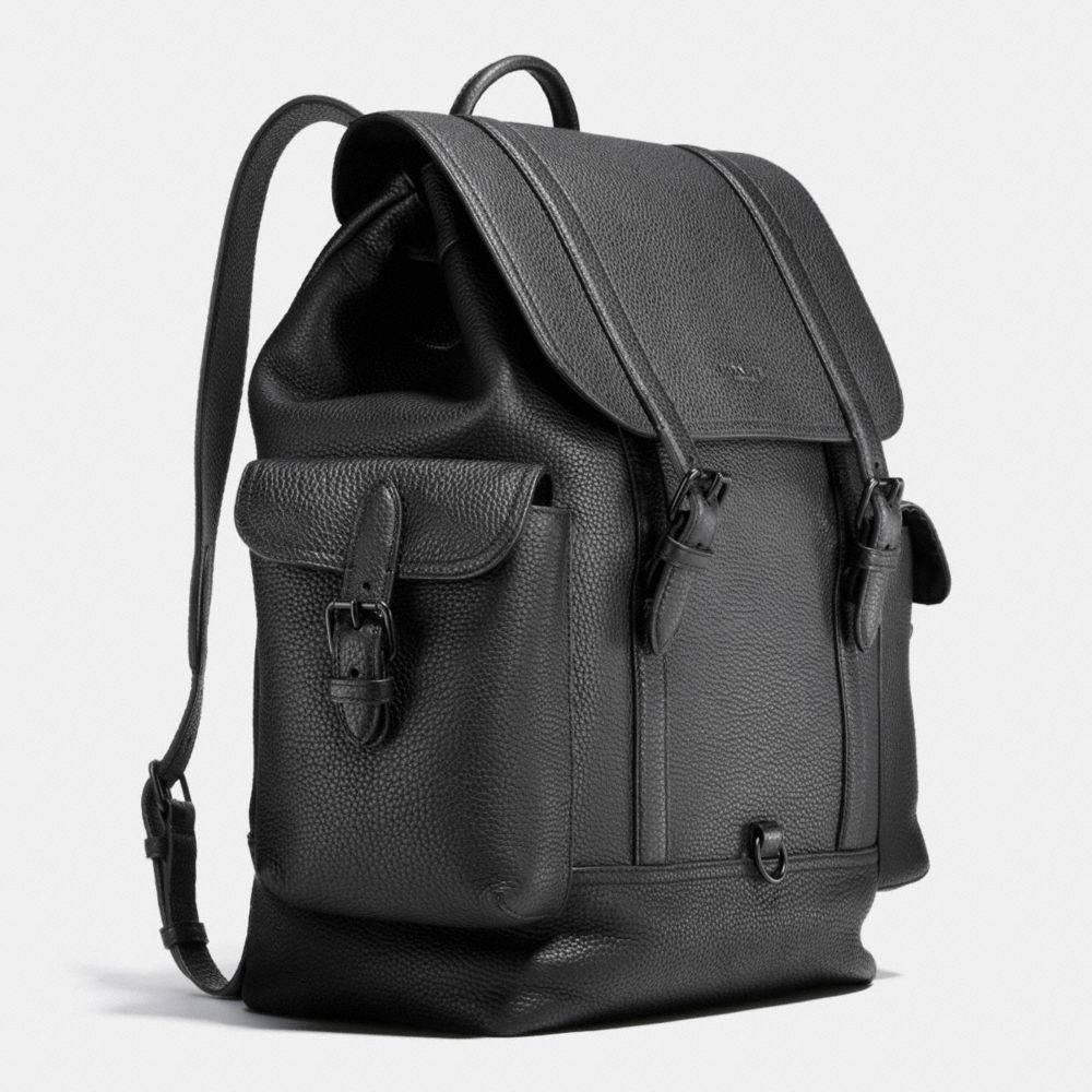 Metropolitan Rucksack in Pebble Leather - Alternate View A2