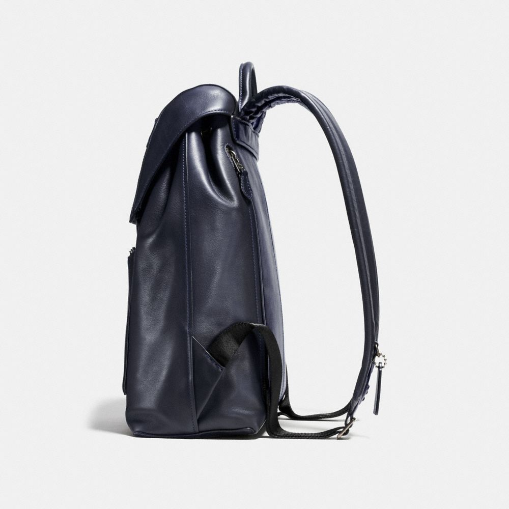 Manhattan Backpack in Sport Calf Leather - Alternate View A1