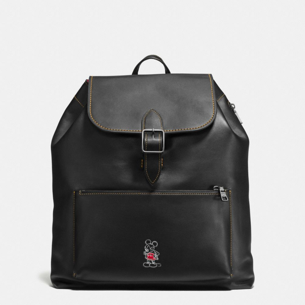 Mickey Rainger Backpack in Glovetanned Leather