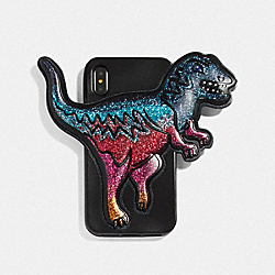 IPHONE X/XS CASE WITH REXY - MULTI/BLACK - COACH 72471