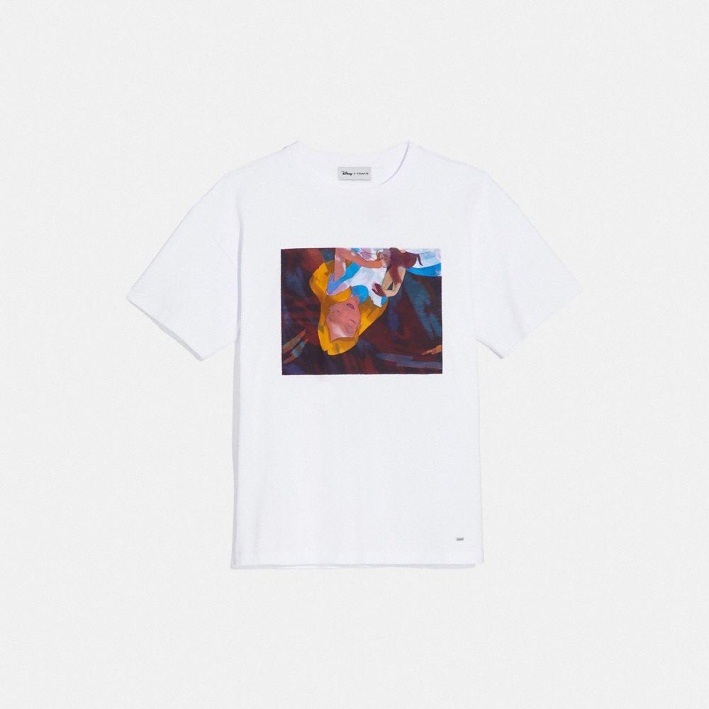 디즈니 X 코치 앨리스 오버사이즈드 티셔츠